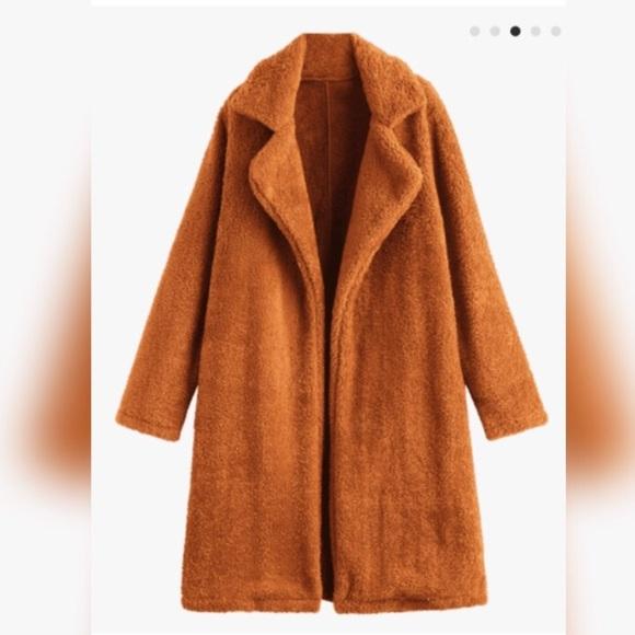 hot products new cheap official shop Fashion Nova Jackets & Coats   Faux Fur Teddy Coat   Poshmark